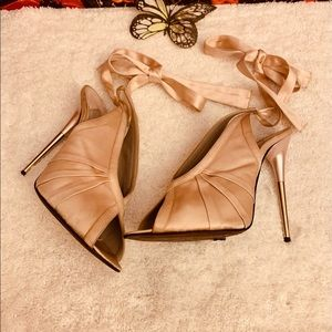 AUTHENTIC TOM FORD SATIN SANDALS
